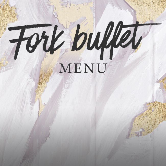 Fork buffet menu at The Spring Tavern