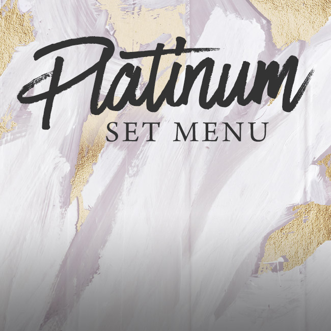 Platinum set menu at The Spring Tavern