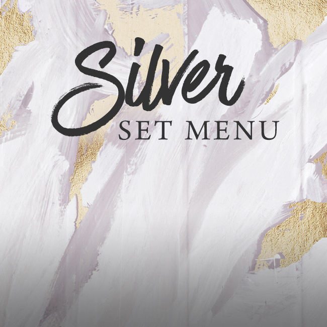 Silver set menu at The Spring Tavern